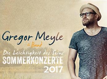 Gregor Meyle - SOMMERKONZERT 2017